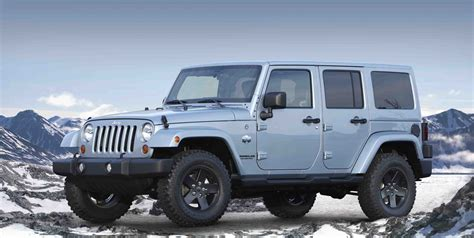 jeep wrangler canada in time for winter jeep releases two new arctic models