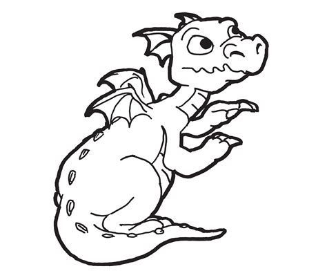 printable dragon templates free printable dragon coloring pages for kids