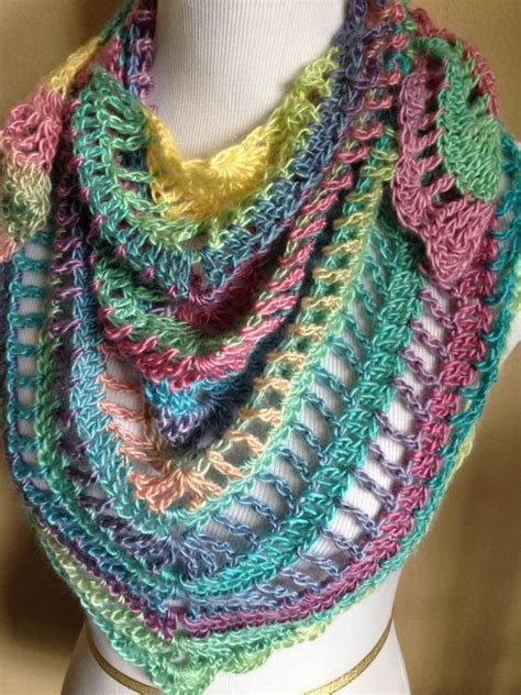 Handmade Scarves Patterns - handmade crochet summer scarf shawl in 2015