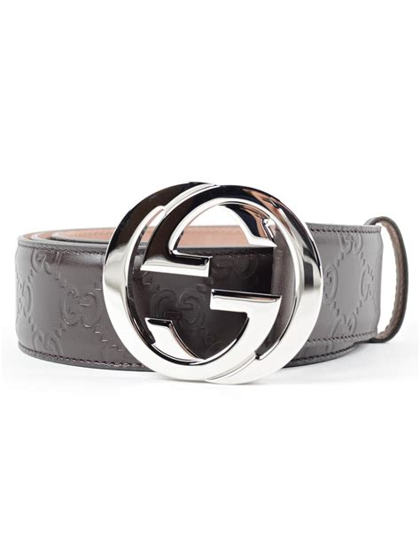 gucci gg signature leather belt 411924 cwc1n 2140 cocoa spinnaker boutique