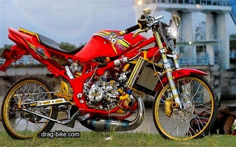 55 foto gambar modifikasi rr kontes racing drag bike