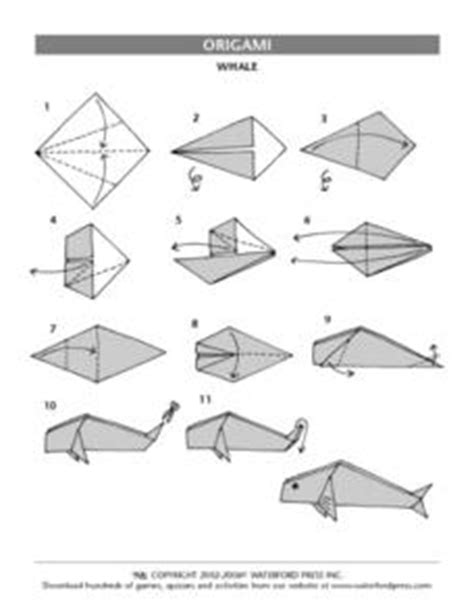 Origami Lesson Plan - origami whale 3rd 6th grade lesson plan lesson planet