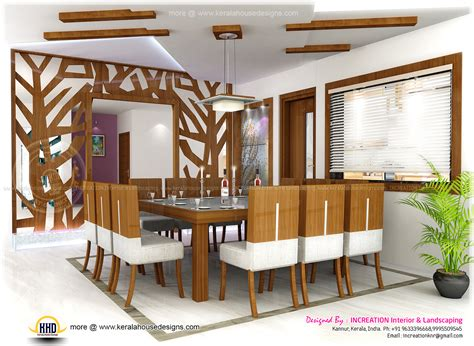 dining kitchen living room interior designs kerala home interior designs from kannur kerala kerala home design