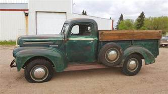 Ford 1 Ton Truck Dakota Survivor 1946 Ford One Ton Truck