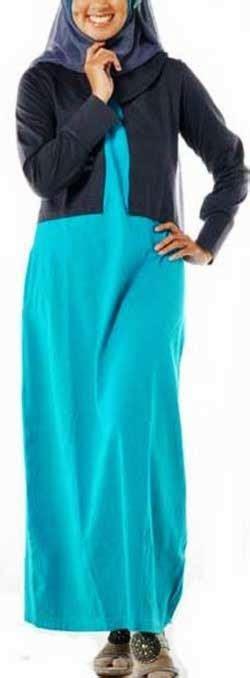 Baju Gamis Remaja Gaul model baju gamis remaja modern gaul dan trendy