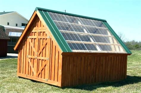 greenhouse storage shed greenhouse garden shed combo