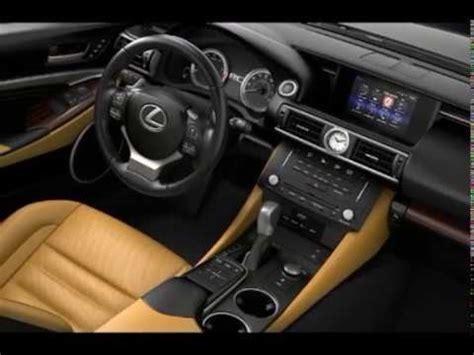 2017 lexus rc interior youtube