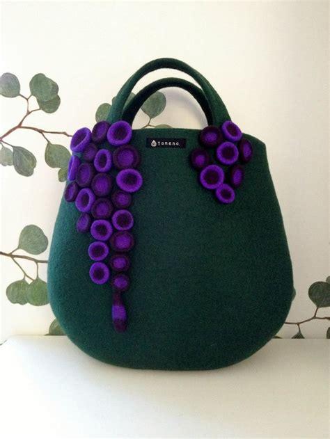 felt handbag pattern atsuko sasaki felt bags pinterest bags the shape