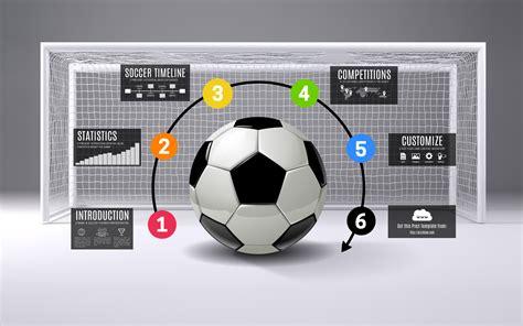 Soccer Infographic Prezi Template Prezibase Prezi Sports Templates