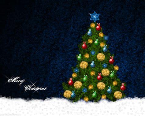 wallpaper christmas deviantart christmas tree wallpaper by gosiekd on deviantart
