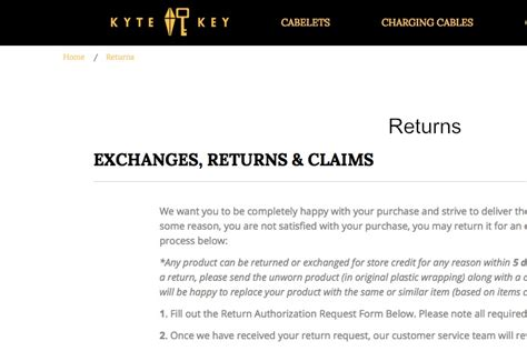 Return Refund Policy Templates And Generator Refund And Exchange Policy Template