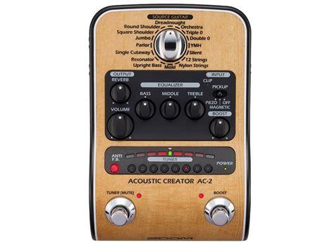 Ac Multi buy zoom ac 2 acoustic guitar multi effect pedal