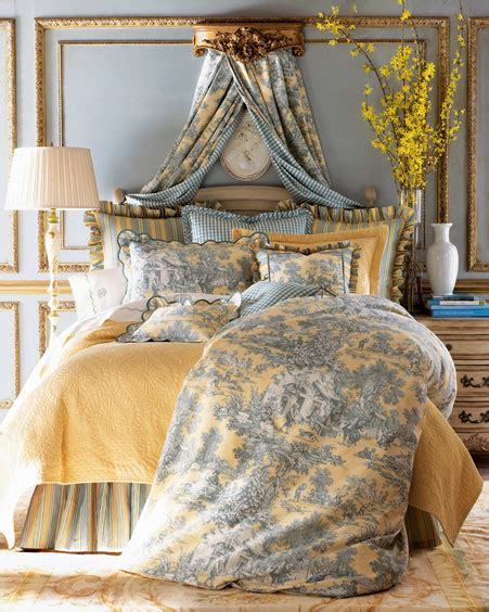 toile bedroom interiors etc details totally toile