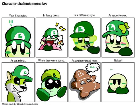 Meme Comic Character - meme by luigikirby64 on deviantart