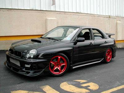 what color rims for black wrx i club