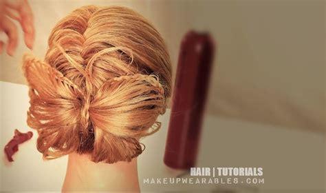 braided hairstyles bow butterfly braid bow bun hair tutorial coming soon