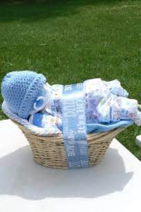 Baby Shower Diaper Gift Basket Idea