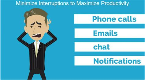 5 rules to maximizing productivity in your home office minimize interruptions to maximize productivity