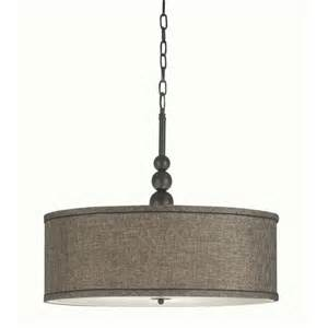 drum shade light fixture bronze 3 light chandelier drum shade pendant l ceiling