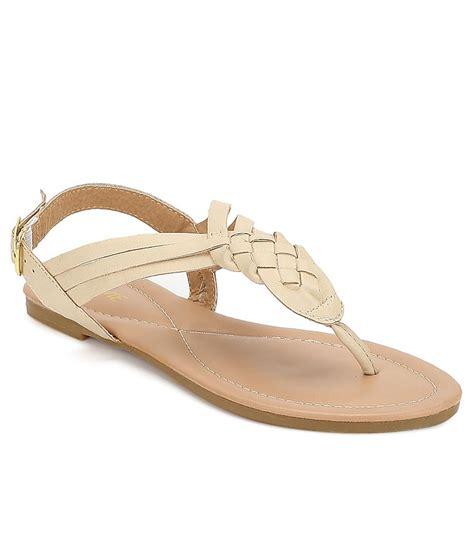 Sandal Beige lavie beige sandals price in india buy lavie beige