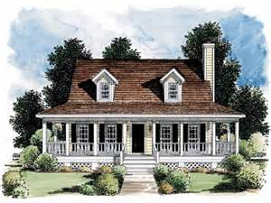 small farmhouse plans porch makes small home look bigger hwbdo05067 farmhouse home plans from builderhouseplans com
