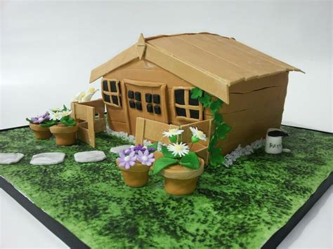 Shed Cakes by Garden Shed Cake Cake Ideas Gardens