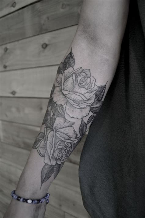tattoo arm roses 50 stylish roses tattoo designs and meaning