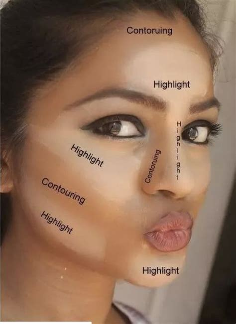 Hdtv Applied To Make Up by The Places Where You Should Apply Concealer Maquillage