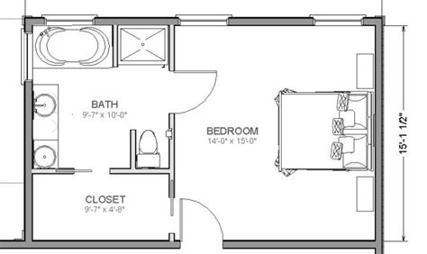 bathroom addition floor plans 21 best simple bedroom and bathroom addition floor plans