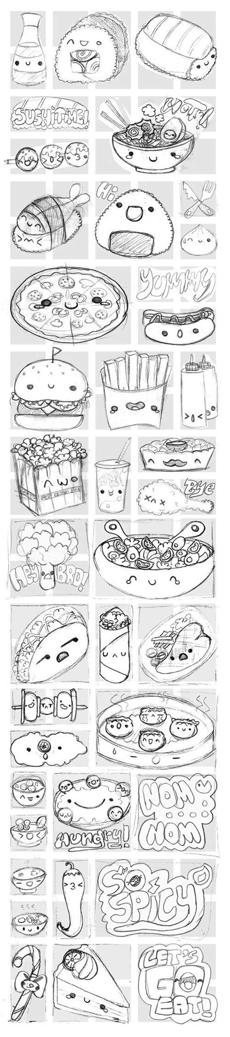 how to use doodle on viber viber s kawaii food stickers cool crafts