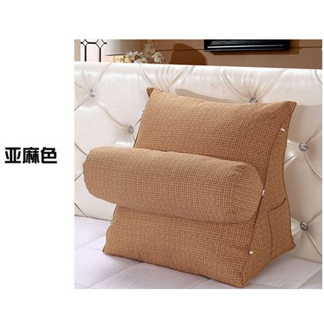 adjustable sofa bed chair rest neck support  wedge cushion fippillow  ebay