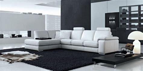 soggiorno bianco e nero come arredare casa in bianco e nero