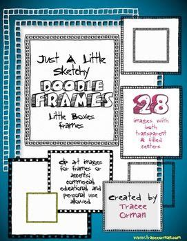 doodle font free commercial use doodle sketches boxes frames clip graphics for