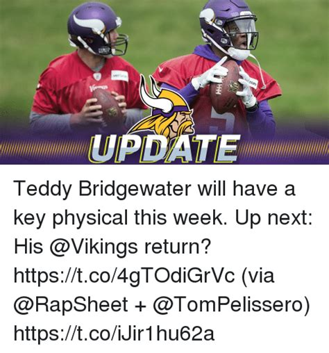 Teddy Bridgewater Memes - teddy bridgewater will have a key physical this week up
