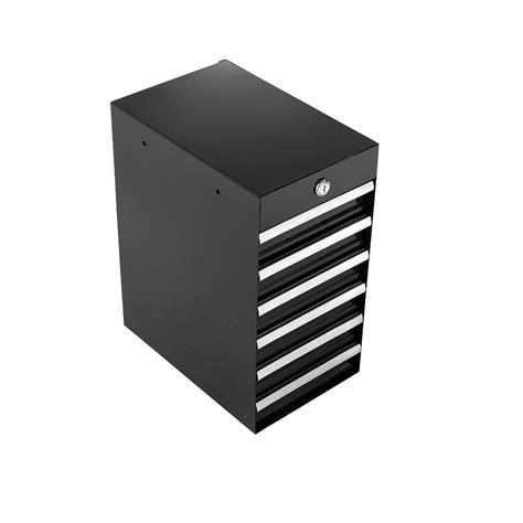 craftsman  drawer quiet glide side chest black tools
