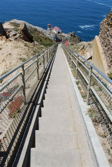 long flight  stairs   point reyes