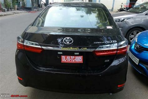 Toyota Corolla 88 Toyota Corolla Altis Facelift Edit Launched At Rs 15 88