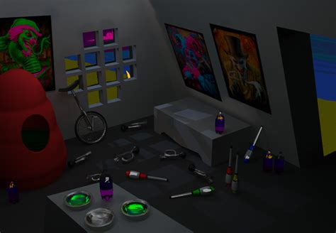 homestuck chat rooms gamzee room by ratkin on deviantart
