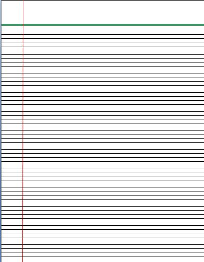 alphabet writing paper 4 lines writing template lined paper