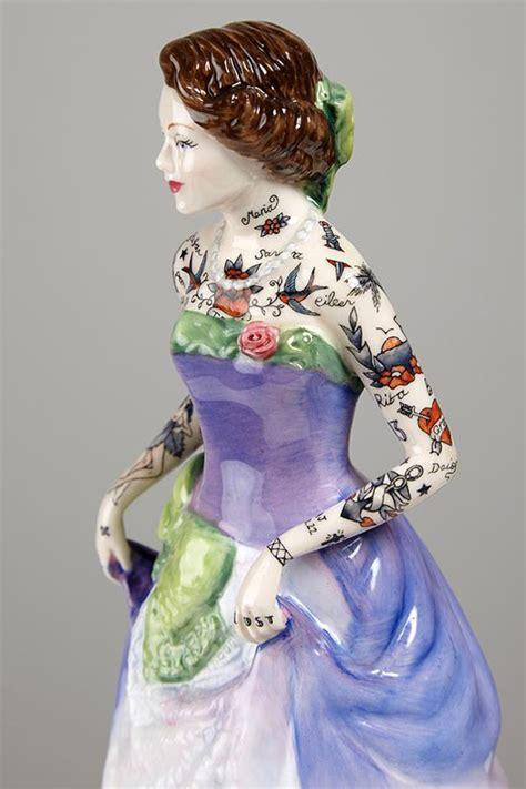 j a designs porcelain dolls pretty porcelain dolls get bad tattoos