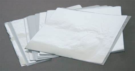 Fiolq Square aluminum foil squares 10x10 cm pk 40