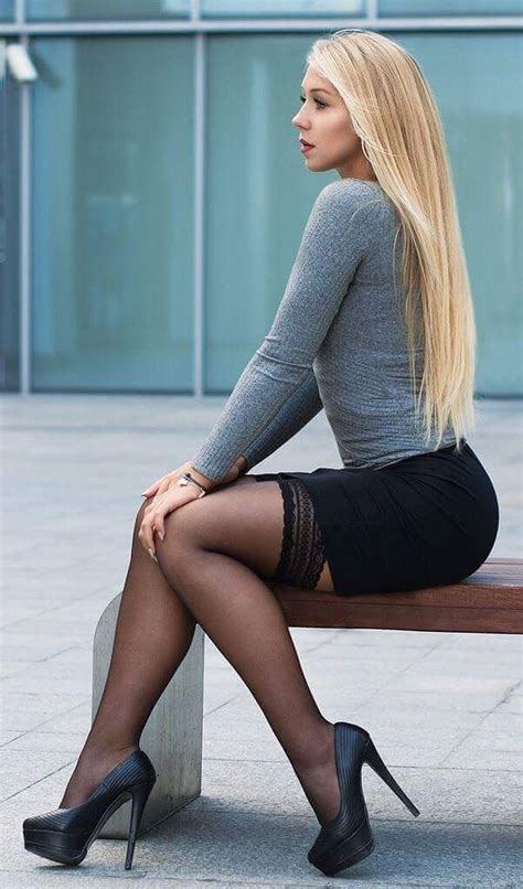 Legs For A by Stunning In Miniskirt And Places To