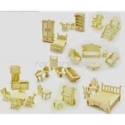 meubles 3d miniature set mod 232 le kit de construction en