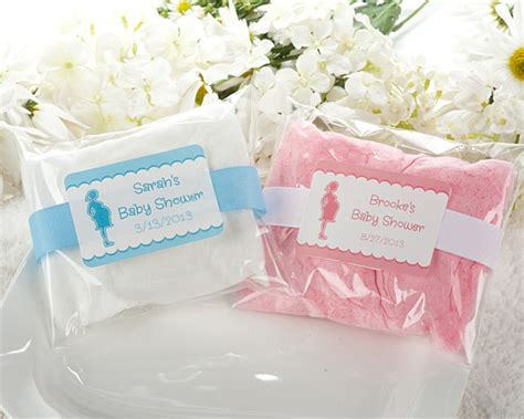 Cotton Baby Shower Favors baby shower personalized cotton baby shower eats