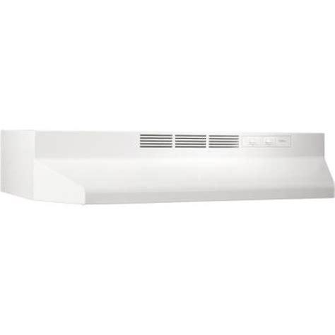 nutone rl6200 30 in non vented range in white