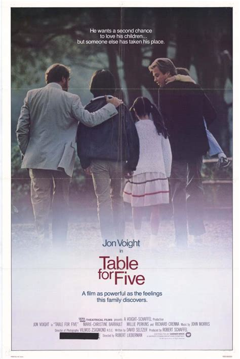 table for five posters from poster shop