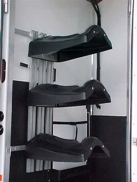 swing out saddle racks for horse trailers swing out saddle rack web site that sales this rack http