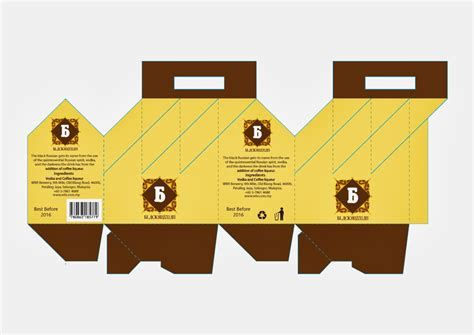 4 pack bottle carrier template packaging template images