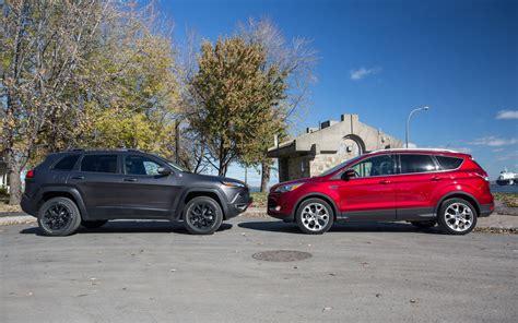 jeep escape jeep cherokee trailhawk vs escape autos post
