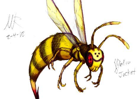 Yellow Jacket Drawing